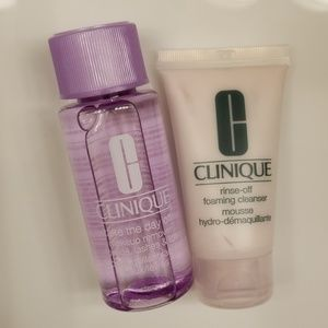 Clinique Makeup - NEW CLINIQUE foaming cleanser and makeup remover